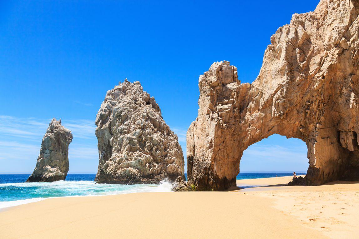 Meksiko Los Cabos kalliomuodostelma