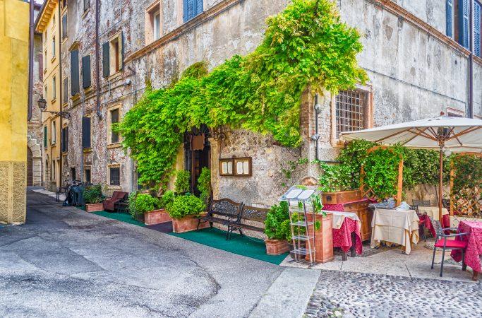 Italia Verona katukahvila