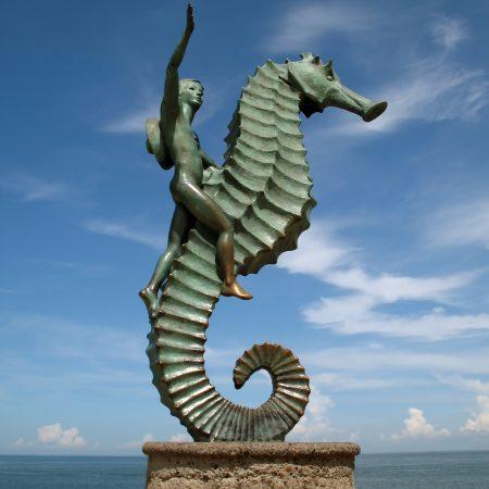 Meksiko Puerto Vallarta patsas