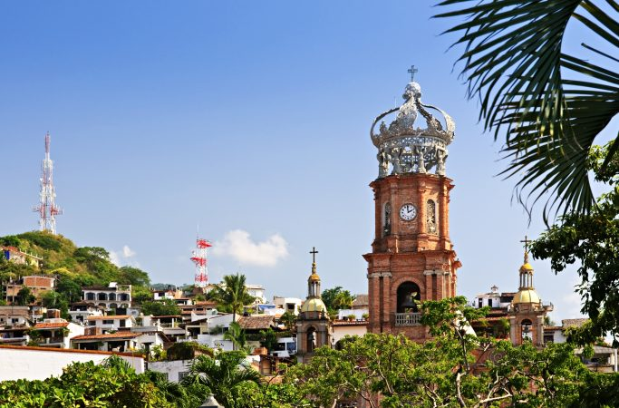 Meksiko Puerto Vallarta kirkko