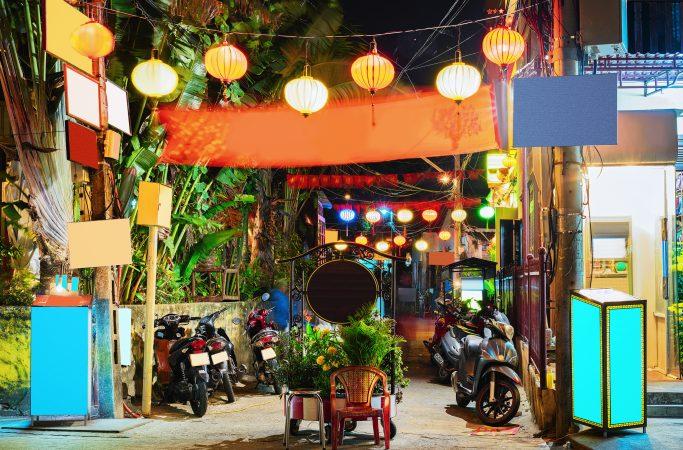 Vietnam Hoi An iltakatu