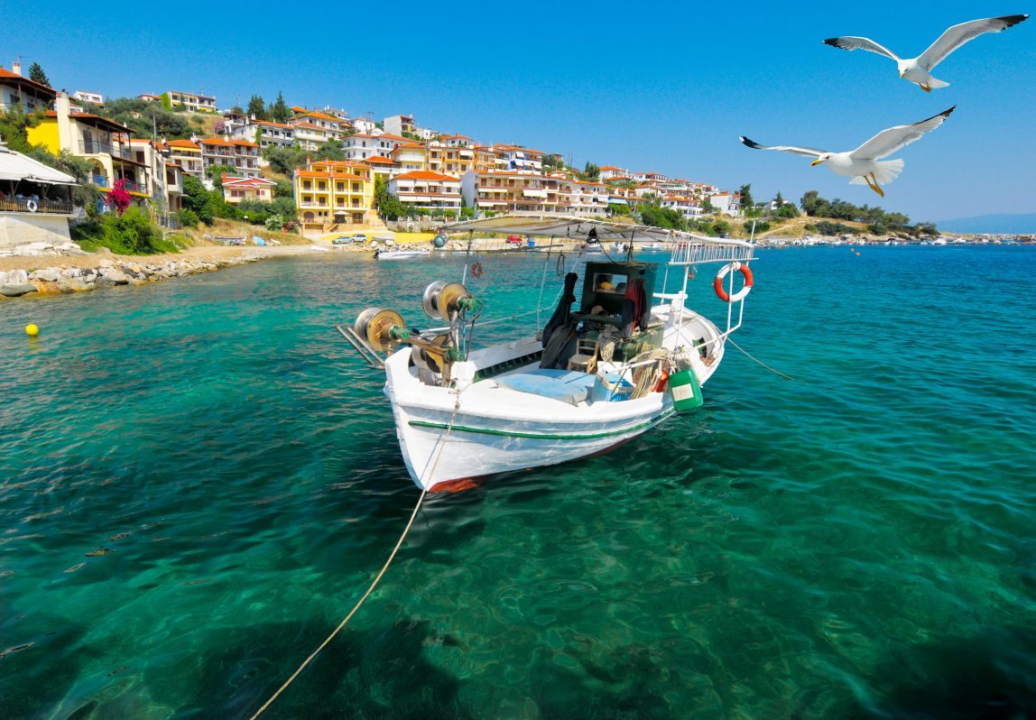 Kreikka Halkidiki vene