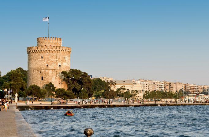 Kreikka Thessaloniki torni