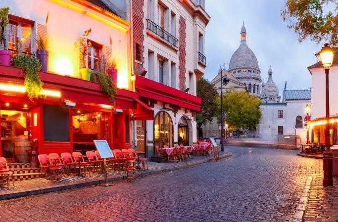 Ranska Pariisi ravintola