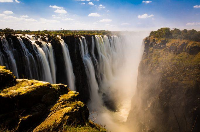 Zimbabwe Viktorian putoukset