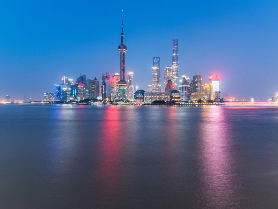 Kiina Shanghai pilvenpiirtäjät