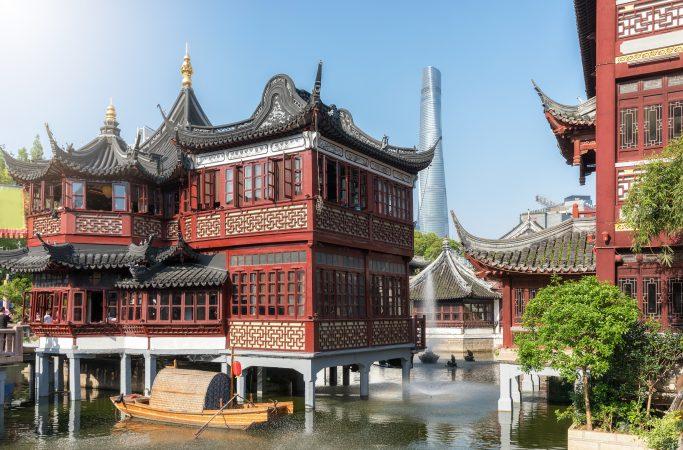 Kiina Shanghai talo