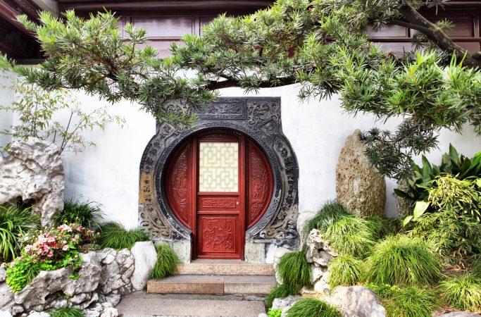 Kiina Shanghai ovi
