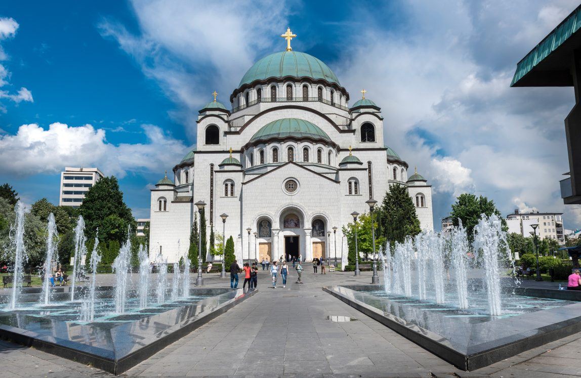 Serbia Belgrad kirkko