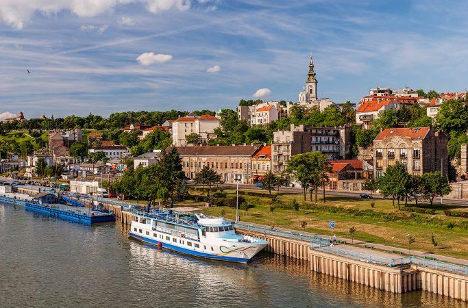 Serbia Belgrad rantakatu
