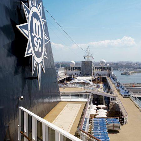 Risteily MSC Cruises yläkansi