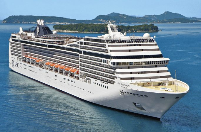 Risteily MSC Cruises merellä