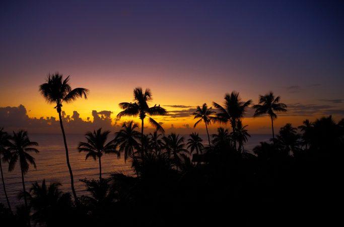 Dominikaaninen tasavalta La Romana auriongonlasku