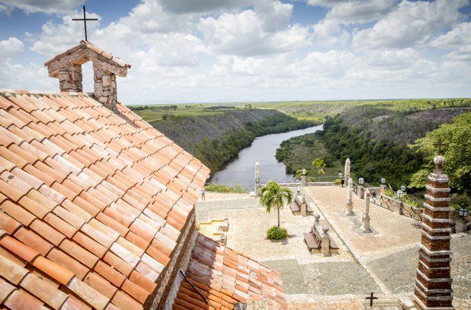 Dominikaaninen tasavalta La Romana maisema