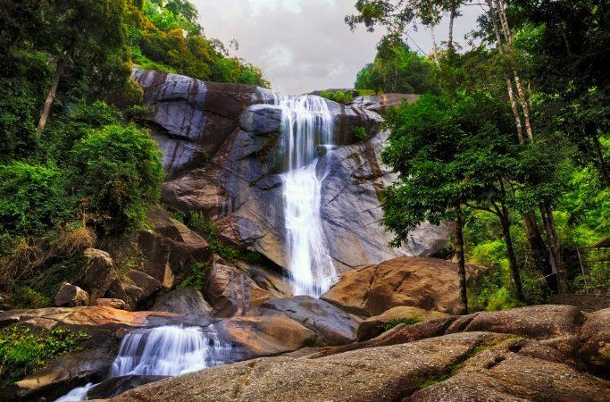 Malesia Langkawi vesiputous