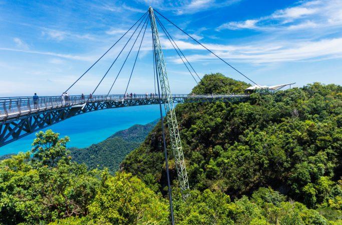 Malesia Langkawi silta