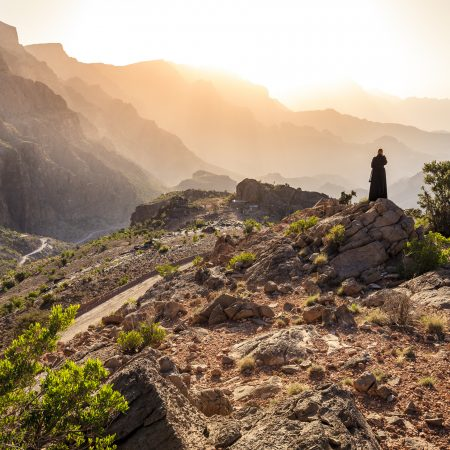 Oman maisema