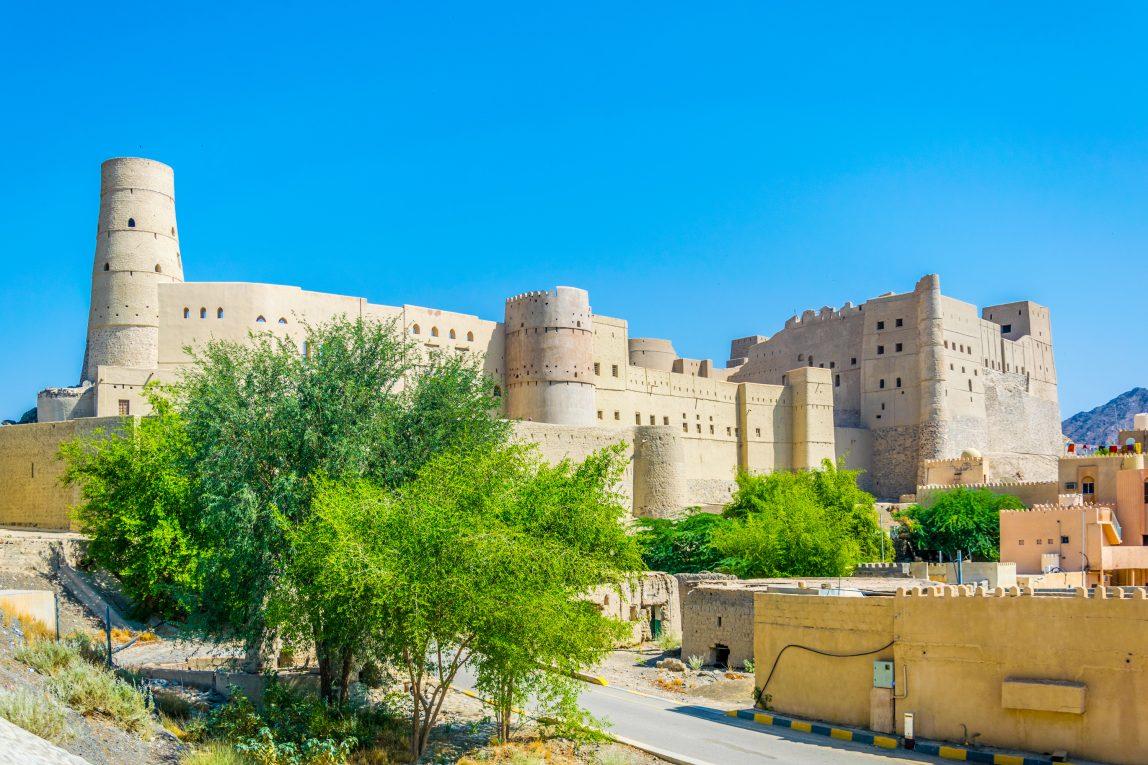 Oman linnna