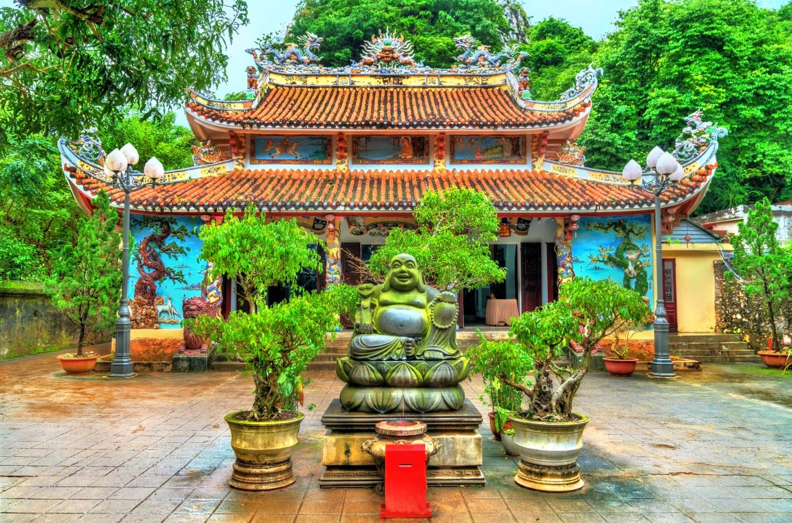 Vietnam Da Nang temppeli
