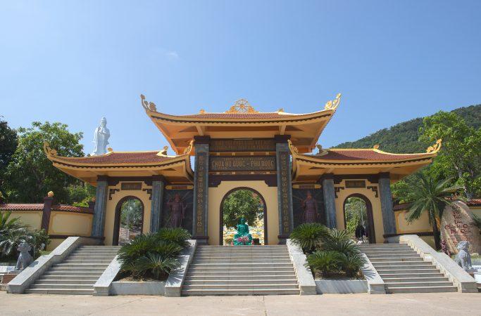 Vietnam Phu Quoc temppeli