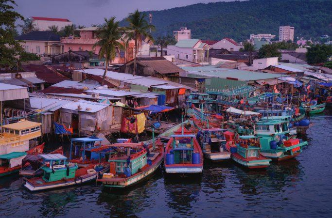 Vietnam Phu Quoc auringonlasku