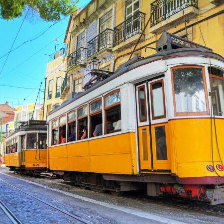 Portugali Lissabon raitiovaunu
