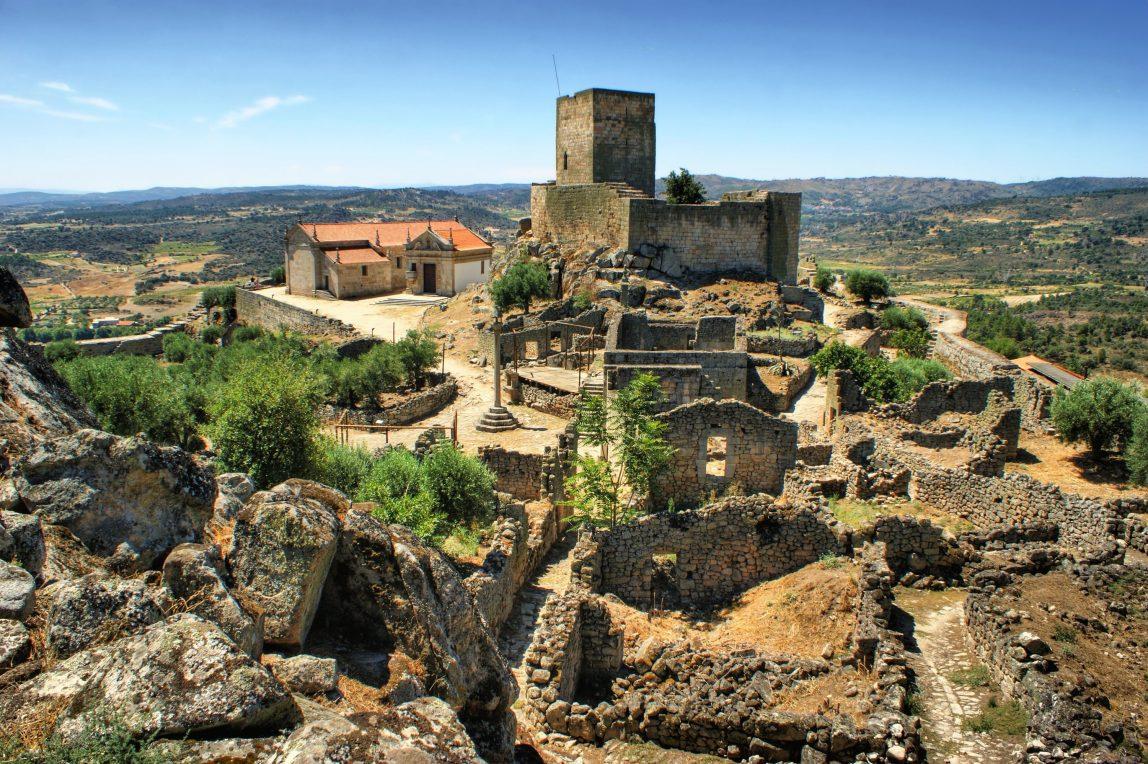 Portugali Marialva rauniot