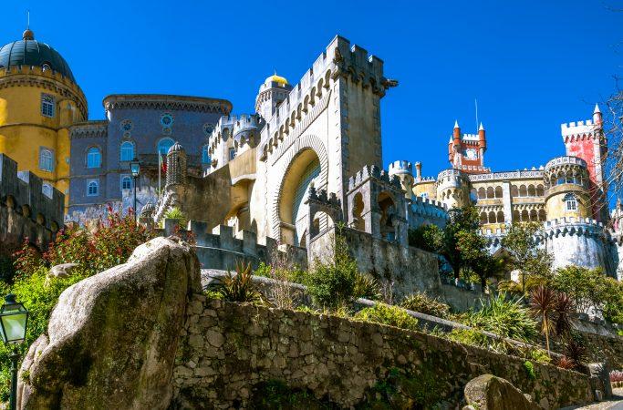 Portugali Sintra linna