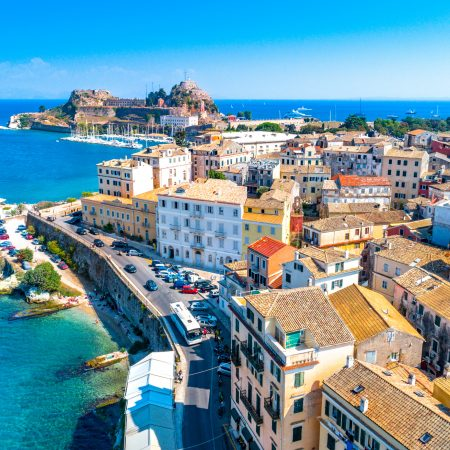 Kreikka Korfu kaupunki