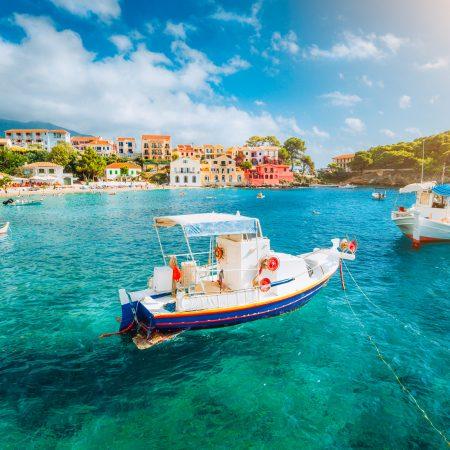 Kreikka Korfu meri