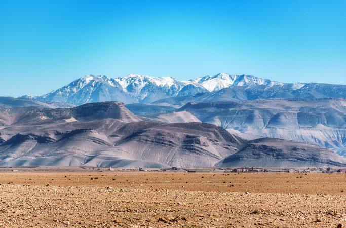 Marokko vuoret