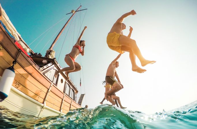 Espanja Ibiza juhla