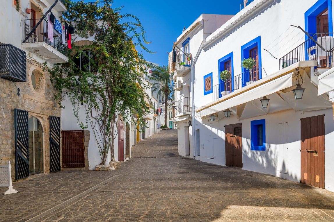 Espanja Ibiza katu