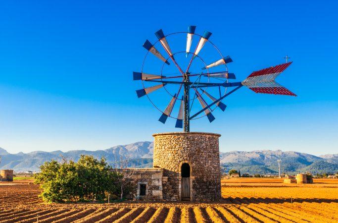 Mallorca tuulimylly